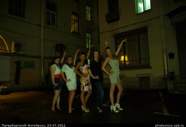 Фотокросс «17-й ночной», кросс Диско команды №18